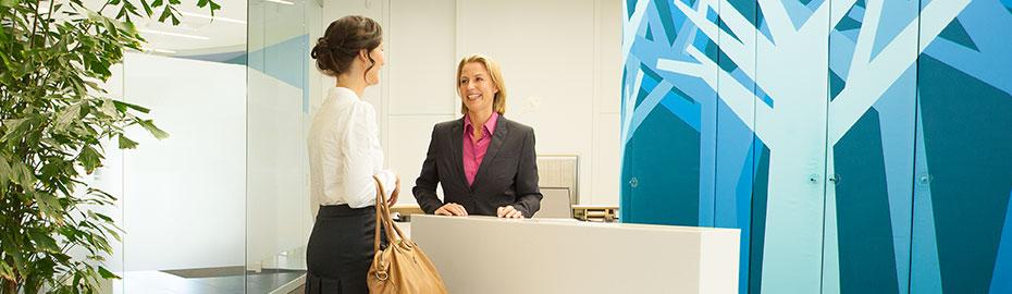 Service Zahlungsverkehr Firmenkunden